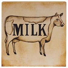 Cow Wooden Rustic Primitive Home Decor Plaques Signs For Sale Ebay