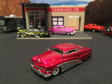 1:64 Hot Wheels Limited Edition 1951 51 Merc Mercury Red and Sliver Legends