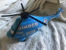 """Disney Pixar Cars 14"""" Dinoco Transporting Helicopter with Sounds"""