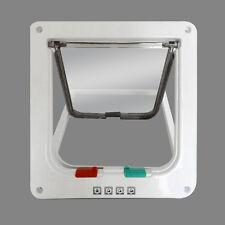 2 Way Dog Flap Doors Magnetic Lockable Small Medium Pets Cat Freedom Door S/M/L