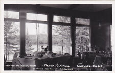 RP, Section Of Dining Room, Manoir Clairval, CHICOUTIMI, Quebec, 30-40s