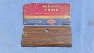 NOS MoPar 1949 1950 DeSoto Deluxe Custom Wood Grain GLOVE BOX DOOR 1253715