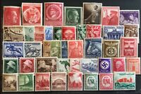 Germany 3rd Reich  Assortment , Lot , Collection  of high Quality  MNH CV $800+