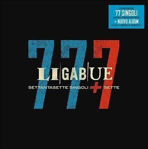 LIGABUE 77 Singoli + 7 Cofanetto 8 Cd NUOVO