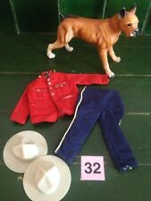 Vintage Action Man, Canadian Mountie Outfit and Guard Dog P32