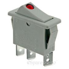 DIMPLEX Storage Heater Genuine On / Off Grey Neon Rocker Switch CXL XL BK BQ