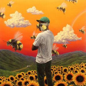 Fot Tyler the Creator Flower Boy Rap Music Album Print Poster Wall Decor Multi