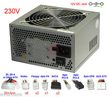 Standard ATX PSU / Power Supply Unit with 12Volt DC jack / Socket. ST-420BKP