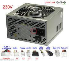 Atx PSU estándar / fuente de alimentación con 12volt Dc Jack / zócalo. st-420bkp