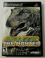 Jurassic The Hunted  Sony PlayStation 2, 2009 Complete with Manual