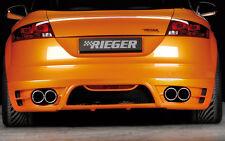 Rieger Heckansatz Audi TT 8J 3,2l V6 inkl. FOX Auspuff / NEU / RIEGER-Tuning