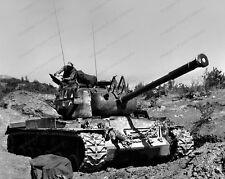 8x10 Print WWII USMC M46 Tank Korea Heavy Tank Patton #MIL632