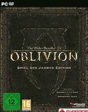 OBLIVION ELDER SCROLLS 4 + 2 Addons GOTY Game of the Year EDITION Neuwertig