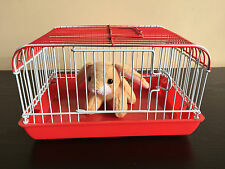 Perfect Kids Christmas Present, Bring their Toy Pet to Life! Miniature Cage Red