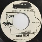 Terry Teene Curse Of The Hearse 45 Garage Halloween Tittyshaker Cramps NM-