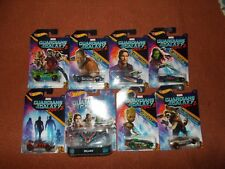 Hot Wheels Guardians of Galaxy vol. 2- 8 car set