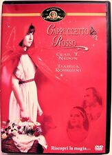 Dvd Cappuccetto Rosso con Isabella Rossellini 1988 Usato editoriale