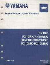 2004 YAMAHA SNOWMOBILE SUPPLEMENT MANUAL (see list)