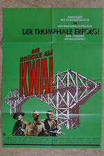 (P154) KINOPLAKAT Die Brücke am Kwai (1957) William Holden, Alec Guinness