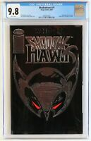 Shadowhawk #1 CGC 9.8  NEW CASE, Image, w/ coupon, embossed cover