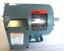 Baldor/Reliance Electric Motor 1HP 230/460V 2.9/1.45A 1740RPM 3PH (P56X1437)