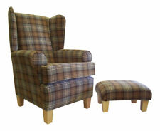 Traditional Wingback Armchairs