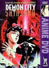 Demon City Shinjuku (DVD) 1993 anime action film U.S. Manga Yoshio Masumizu