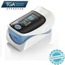 OLED Fingertip Pulse Oximeter Heart Rate Monitor Oxygen Saturation Hemoglobin