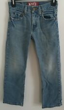Levi's 514 Red Tab Jeans Slim Straight Boy's Size 8 Regular 24X22 C72