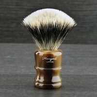 Premium Quality Silver Tip Badger Hair Shaving Brush Made in England