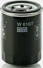 MANN-FILTER W 610/7 Oil Filter, for Cars