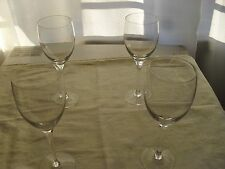 Glass Wine glasses x4