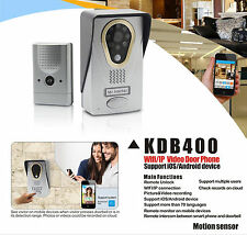 WIRELESS DOORBELL INTERCOM Wi-Fi LIVE HD VIDEO CAMERA - SMARTPHONE