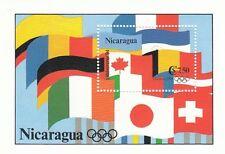 (44406) Nicaragua MNH Olympics Lillehammer Minisheet 1994
