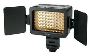 New Sony LED Video Flash Light HVL-LE1 Alpha Handycam Camcorder