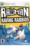 Rayman Raving Rabbids Xbox 360/Xbox One Kids Game