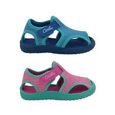 Grosby Cage Little Kids Beach Shoe Open sides Soft Upper Flex Sole Size 6-12