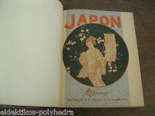 Félix Régamey / Japon / Paclot  E.O 1903  vélin n°    / 306p , 245 illustrations