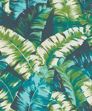 Tapete Rasch Hotspot 805321 Vliestapete floral Natur Tropen Palmen Blätter blau