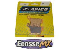 KTM SXF250 SXF350 SXF450 sxf525 PASTIGLIE FRENI POSTERIORI API 191 APICO / ORO