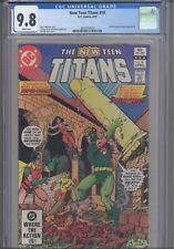 The New Teen Titans #18 CGC 9.8 1982 DC Starfire (Leonid Kovar) App