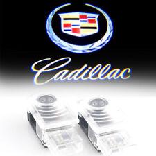 LED Car Door Light Projector Laser Light For Cadillac XTS ATS SRX XT5 CT6 2pcs
