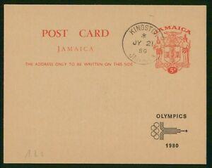 MayfairStamps Jamaica 1980 Rings & Symbol Card wwp80739