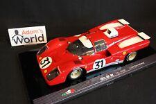 MG Model Plus Ferrari 512 M 1970 1:18 #31 Ickx / Giunti 1000 km Zeltweg (PJBB)