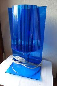 "Kartell Lampe de Table "" Take "" Design Ferruccio Laviani, Couleur bleue"