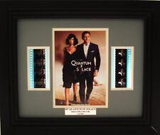 007 QUANTUM OF SOLACE FRAMED FILM CELL JAMES BOND DANIEL CRAIG