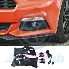 Clear Fog Light Lamps+Switch+Wiring Harness Kit For FORD V6 MUSTANG 2015-2017