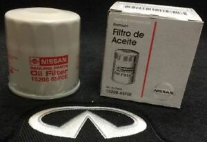 Genuine Infiniti Oil Filter 1520865F0E