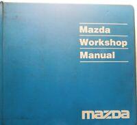 1993 Mazda Miata MX-5 MX5 Service Repair Shop Workshop Manual Set With EWD OEM