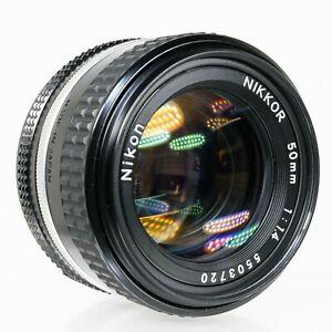 Nikon NIKKOR 50mm f/1.4 AI-s  Manual Focus Prime Lens   Parts or Repair Only